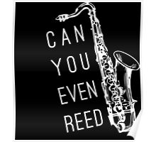 Can You Even Reed? Poster
