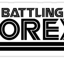 Battlestar Galactica Parody - Battling Anorexia - Fat Club  Sticker