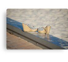 Shoeless Cheryl.... Canvas Print