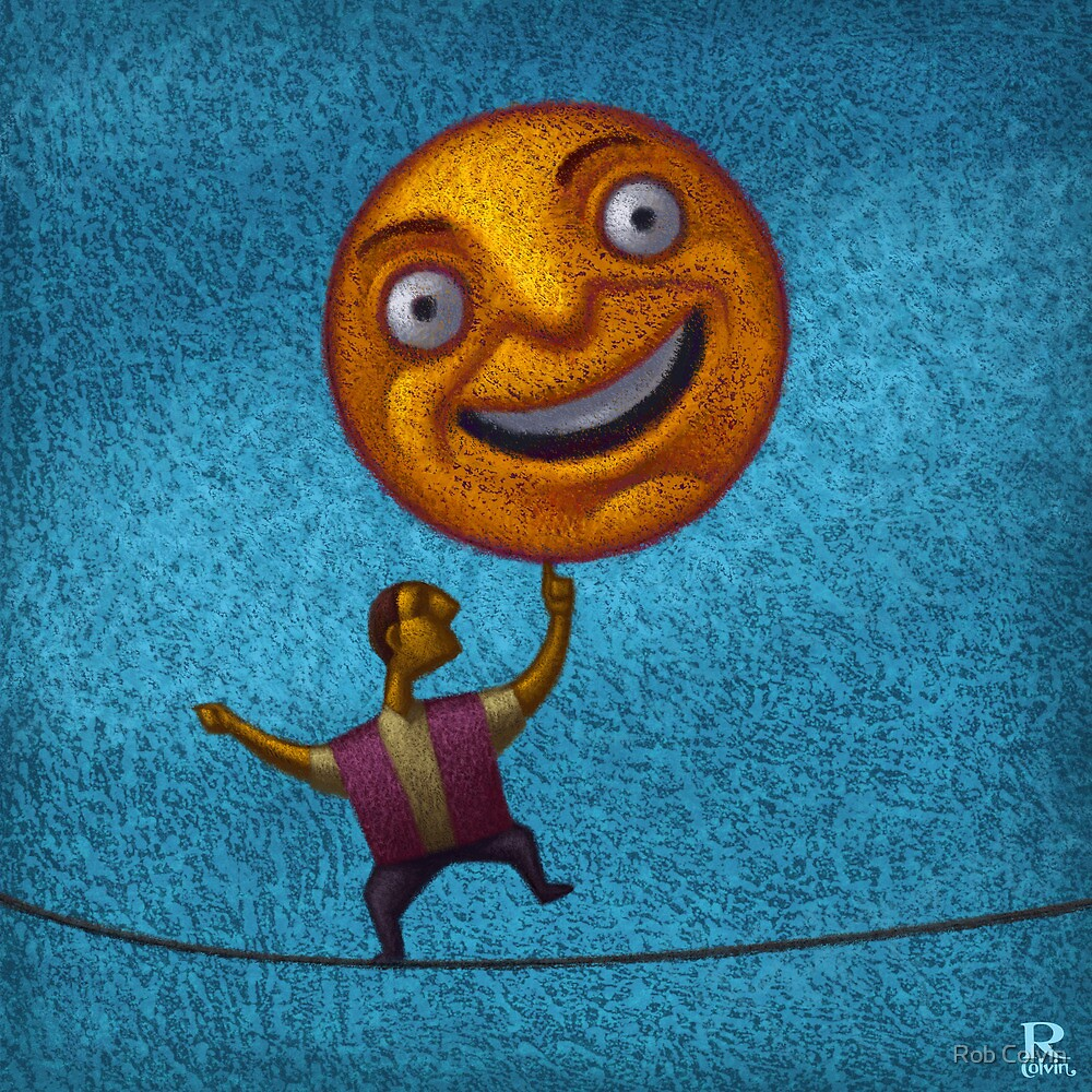 A Happy Balance by Rob Colvin