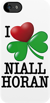 I LOVE NIALL HORAN I-PHONE CASE by FALSIDAUTORE