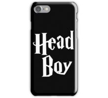 Head Boy iPhone Case/Skin