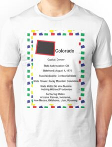 Colorado Information Educational Unisex T-Shirt