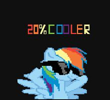 20% Cooler Rainbow Dash My Little Pony Unisex Male Female Brony Pegasister Pixel Unisex T-Shirt
