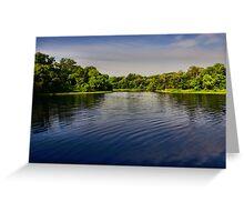 On the Edge - Lake Pickens, Sherman, Texas, USA Greeting Card