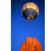 Hot Air Balloon Monument Valley Photographic Print