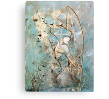 Surfboard Betty Canvas Print