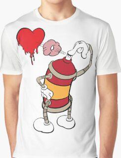 comic graffiti love Graphic T-Shirt