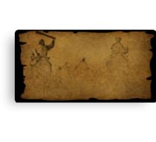 Parchment find Canvas Print