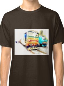 Albano Laziale railway station: trains Classic T-Shirt