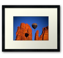 Hot Air Balloon Monument Valley 2 Framed Print