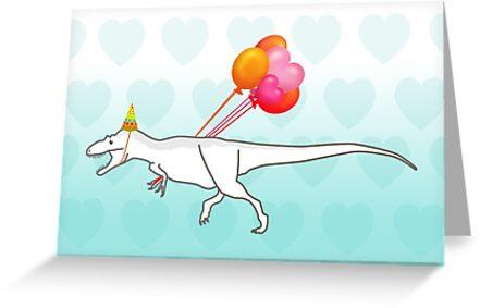 Party Daspletosaurus desperatus by JayZ99