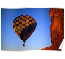 Hot Air Balloon Monument Valley 3 Poster