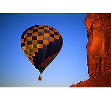 Hot Air Balloon Monument Valley 3 Photographic Print