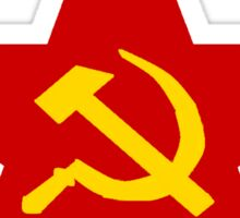 Communist Star Hammer And Sickle Sticker