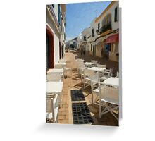 Alley Minorca two Greeting Card