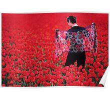 Color Me Tulip Poster