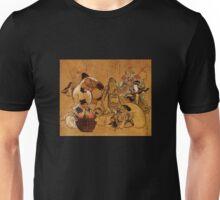 'Seven Gods of Fortune' by Katsushika Hokusai (Reproduction) Unisex T-Shirt
