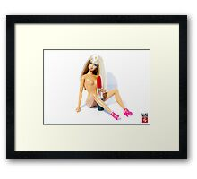 Does it fit? Framed Print