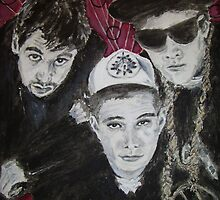 Beastie Boys by Jennifer Ingram