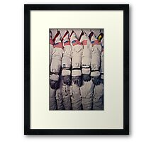 Space Suits Framed Print