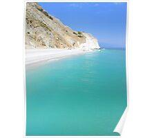 Lalaria Beach - Skiathos Island - Greece Poster