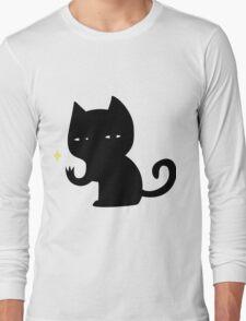Creepy Cat Long Sleeve T-Shirt