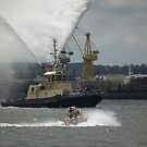 Tug on the Mersey by MyPixx
