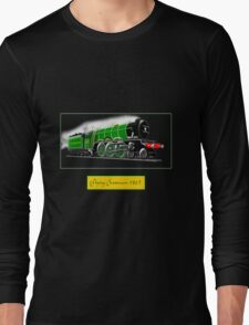 Steam Locomotive - The Flying Scotsman 1923 Long Sleeve T-Shirt