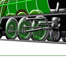 Steam Locomotive - The Flying Scotsman 1923, T-shirt Sticker