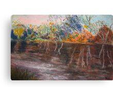 The goulburn river Canvas Print