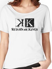 K PROJECT - RETURN OF KINGS Women's Relaxed Fit T-Shirt