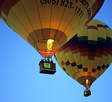 Hot Air Balloons New Mexico by Bob Christopher