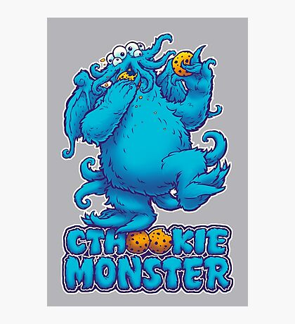 CTHOOKIE MONSTER Photographic Print
