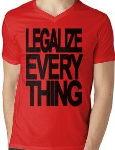 Legalize Everything Mens V-Neck T-Shirt