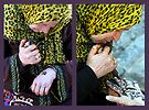 Henna Lady, Chefchaouen Morocco by Debbie Pinard