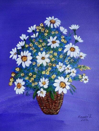 Flower basket  by maggie326