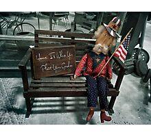 Patriotic USA Photographic Print