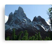 Disney's Animal Kingdom, Florida - Expedition Everest Canvas Print