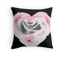Beautiful as a rose. Throw Pillow