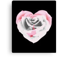 Beautiful as a rose. Canvas Print