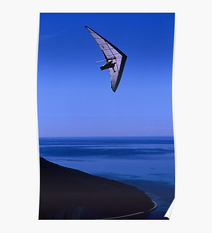 Flight Over The St Lawrence River Poster