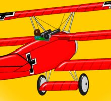 The Red Baron WW1 Fighter Ace, T-shirt, etc. design Sticker