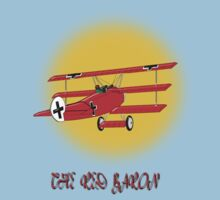 The Red Baron WW1 Fighter Ace, T-shirt, etc. design by Dennis Melling