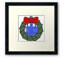 Whovian Holidays Framed Print