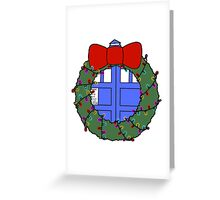 Whovian Holidays Greeting Card