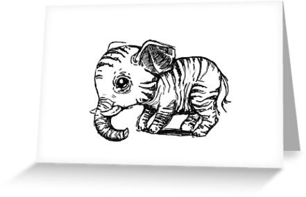 Little elephant by freeminds