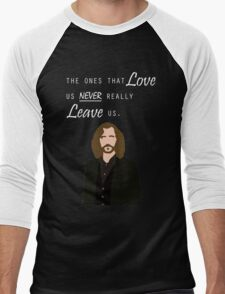 """Sirius Black - """"The ones that love us never really leave us"""" Men's Baseball ¾ T-Shirt"""