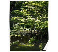 japanese gardens 2 Poster