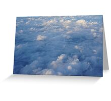Sky from air Greeting Card